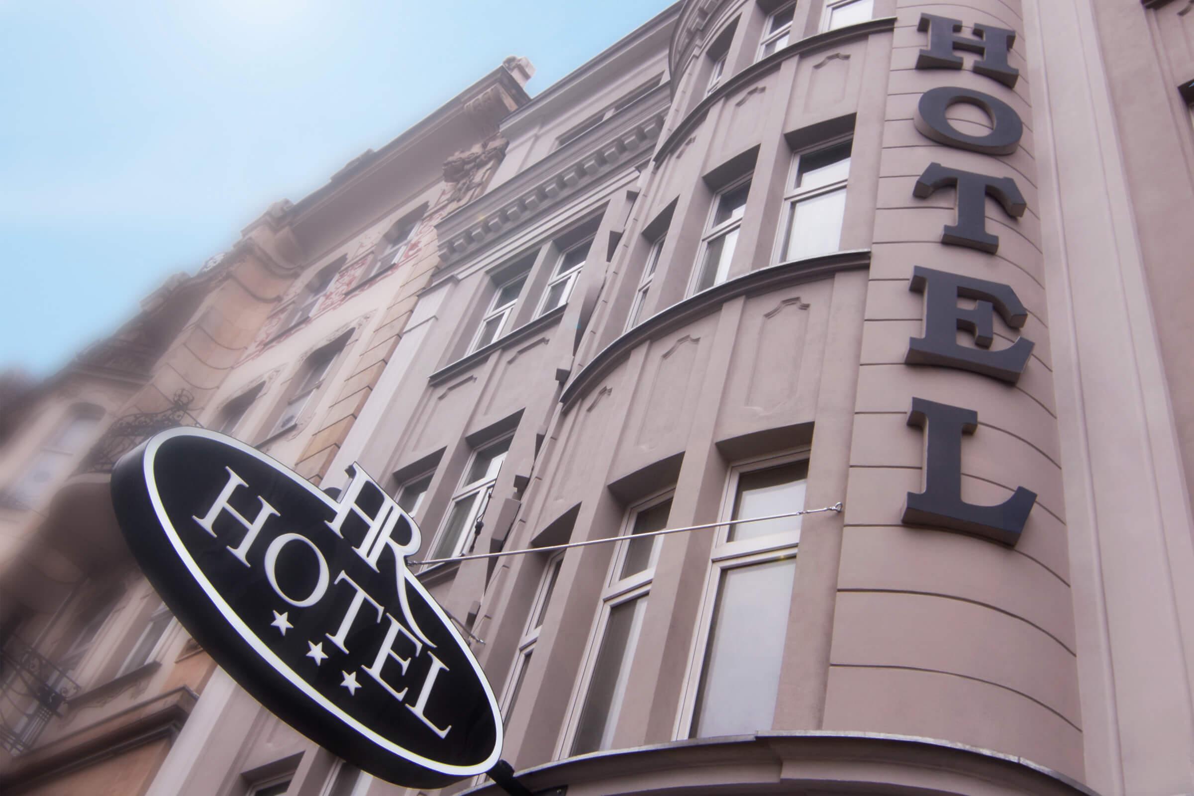 Fasada budynku Hotel Royal Poznań